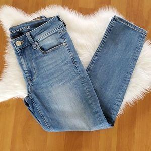 American Eagle stretch skinny jeans 6 X-Short